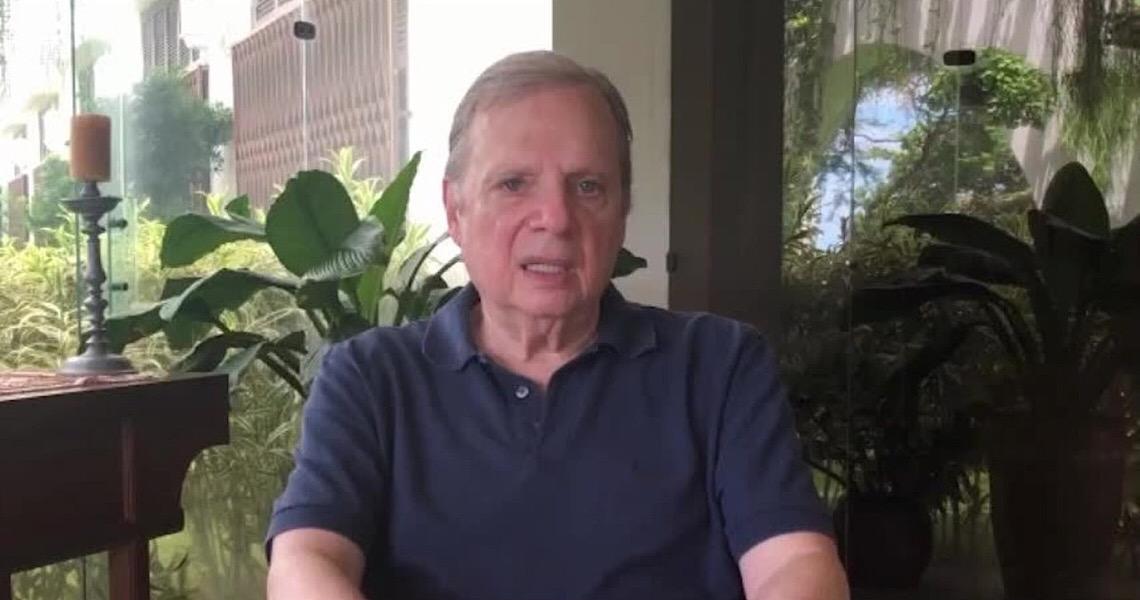 Tasso Jereissati: Harmonia é 'quase impossível' com comportamento 'beligerante' de Bolsonaro