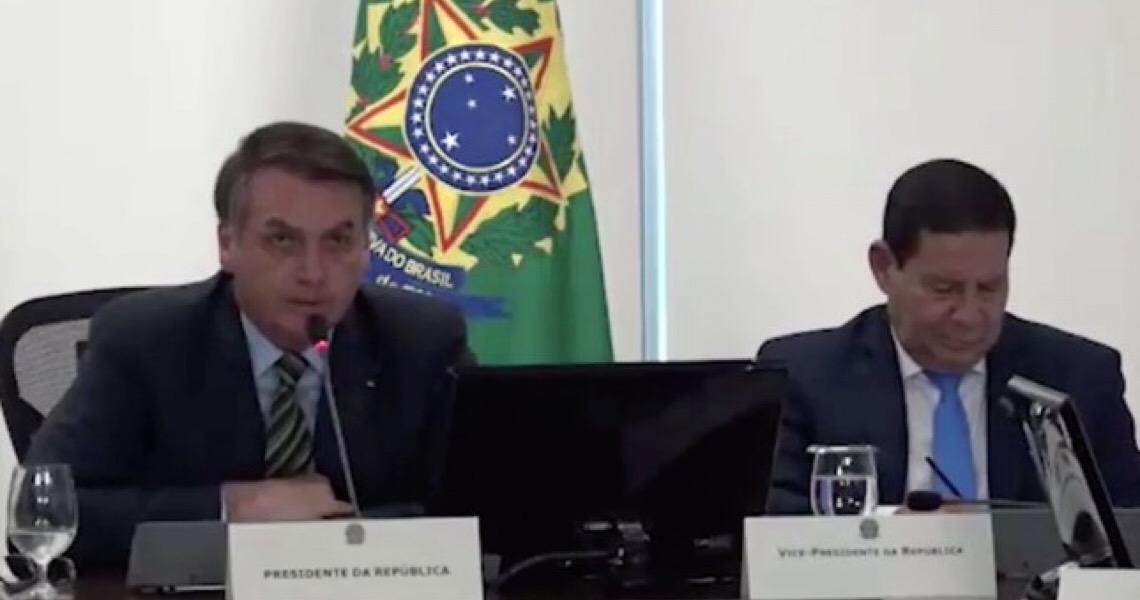 Hamilton Mourão diz que Jair Bolsonaro se expressou mal e reprova critica que ele fez a Dória