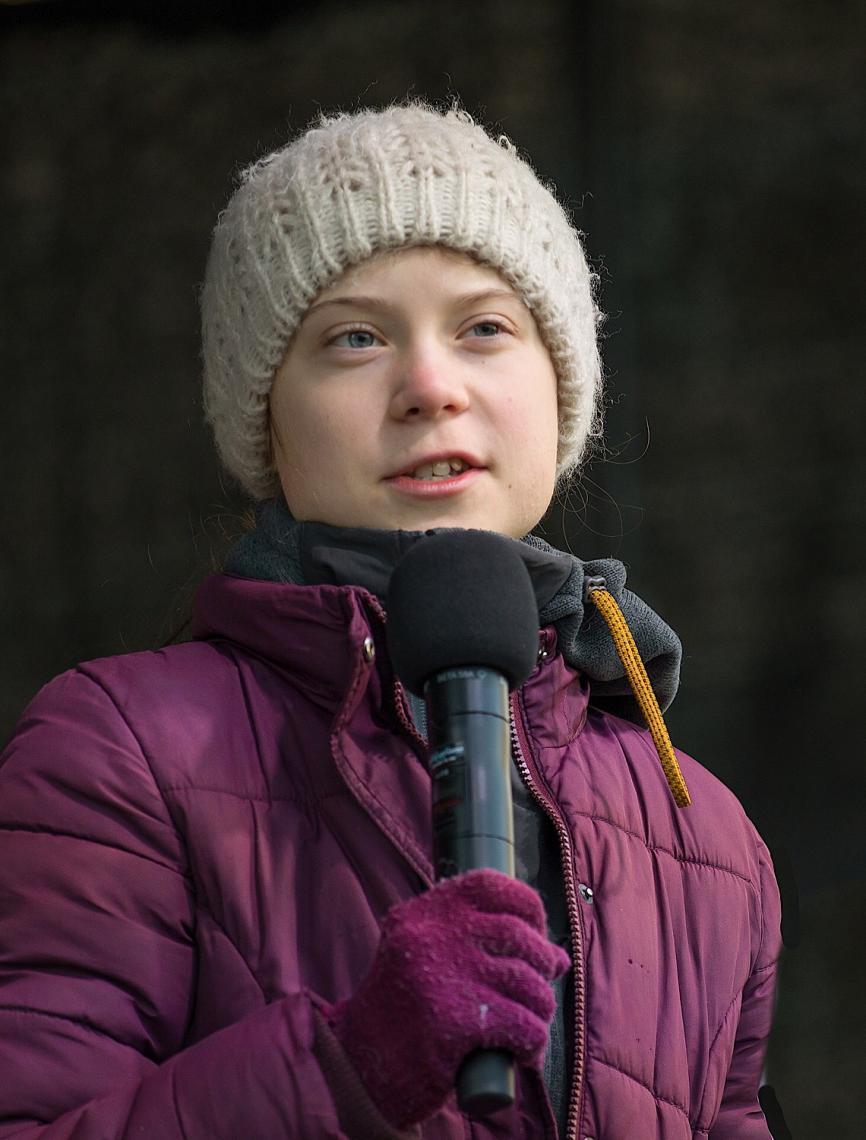 Greta Thunberg, os seres humanos estão morrendo e você não pode continuar omissa