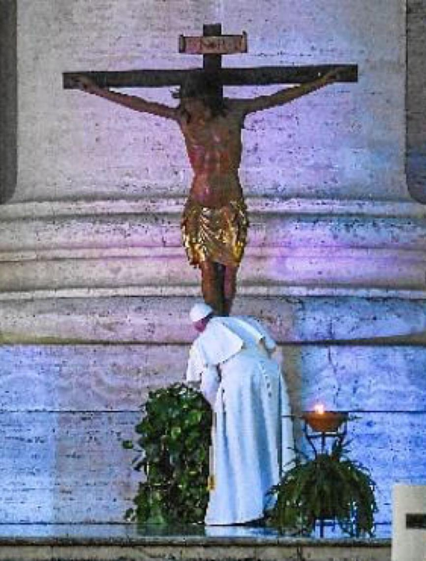 Entre o luto e a fé. Francisco concede bênção e indulgência plenária à humanidade