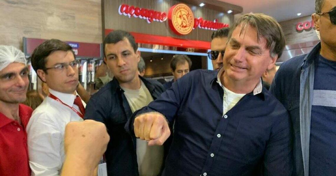 Jair Bolsonaro recomenda que todos os políticos do Brasil saiam às ruas
