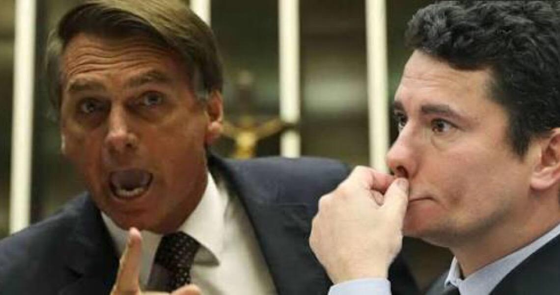 Bolsonaro diz que Moro é egoísta e não ajuda governo em crise do coronavírus