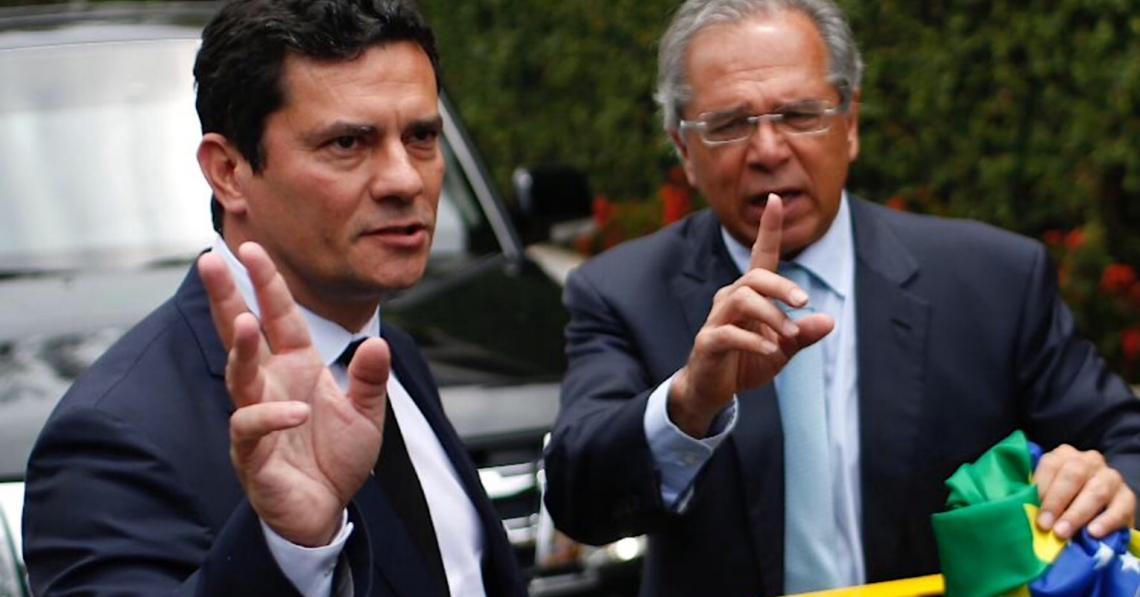Sérgio Moro se opõe a Bolsonaro e forma bloco de apoio a Mandetta com Paulo Guedes
