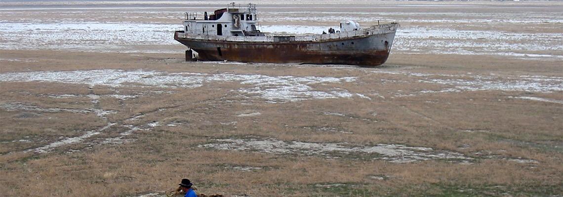 Mar de Aral, mais um 'mar' maltratado e pouco conhecido
