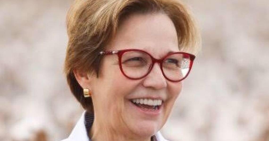 Ministra da Agricultura desmente postagem de Bolsonaro