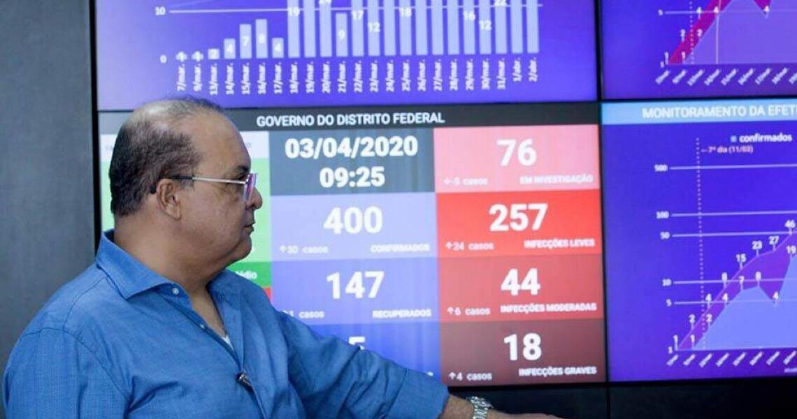 Governador do DF lança programa emergencial de refinanciamento de dívidas