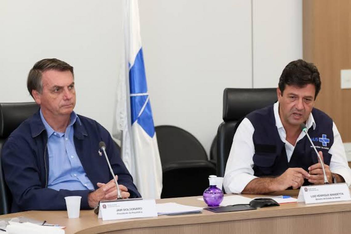 Bolsonaro quer isolamento só acima dos 50 e Mandetta lista 19 condicionantes para saída