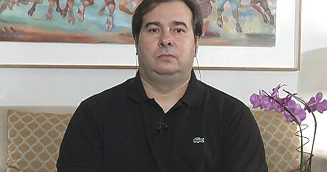 Maia critica governo e diz que Olavo de Carvalho comanda 'gabinete do ódio'