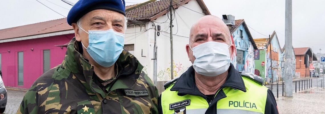 Testes, limpezas, produção de desinfetante: O papel dos militares no combate à pandemia em Portugal
