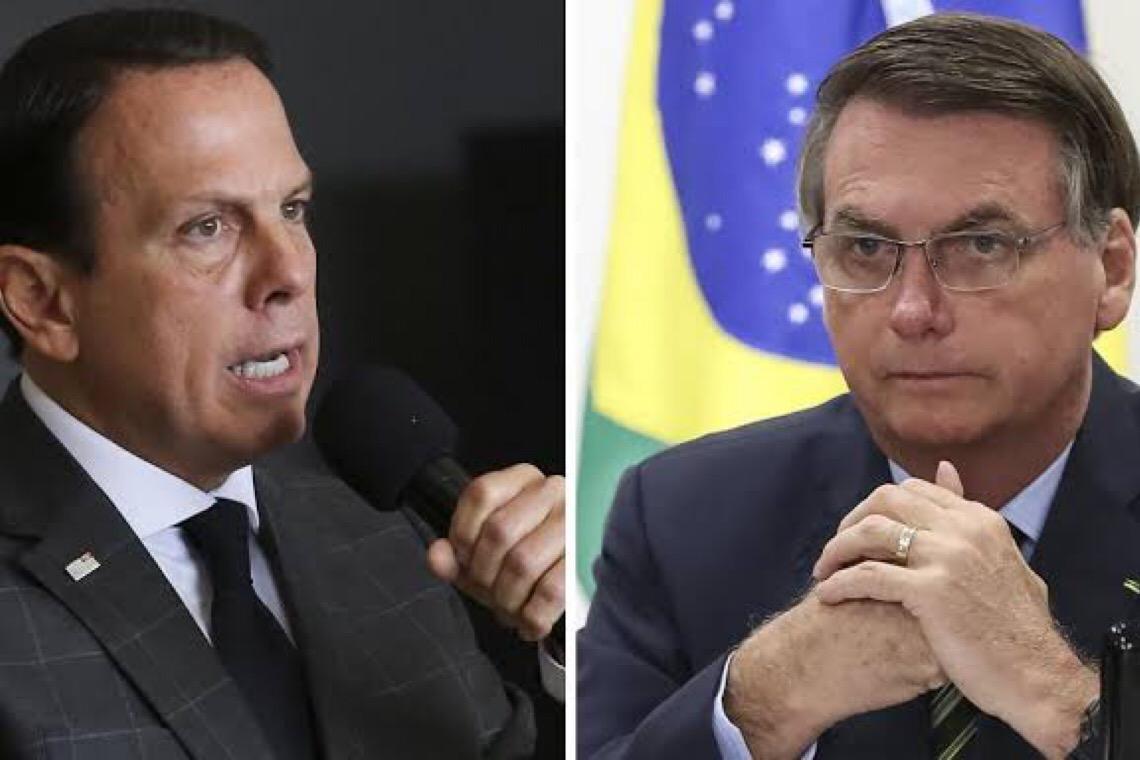 Após 'e daí' de Bolsonaro, Doria o convida a visitar SP: 'Saia do seu mundinho de ódio'