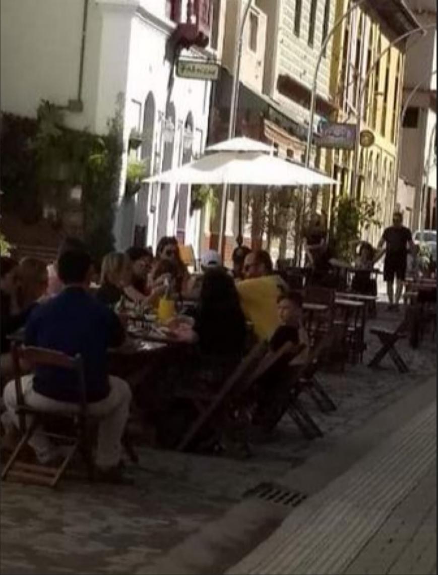 Preocupação: 4 mil turistas visitaram Santa Teresa no feriado