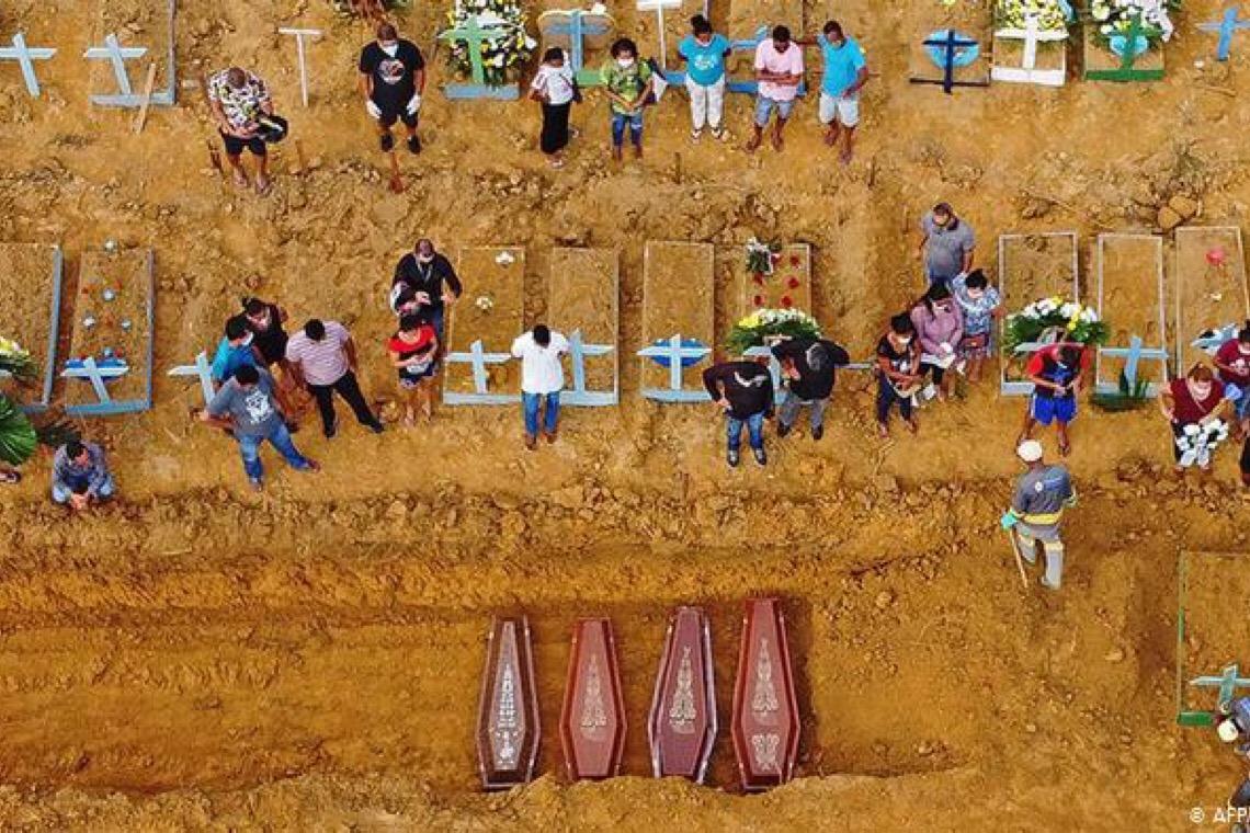 Brasil pode ter mais de 1,6 milhão de casos de covid-19, aponta estudo