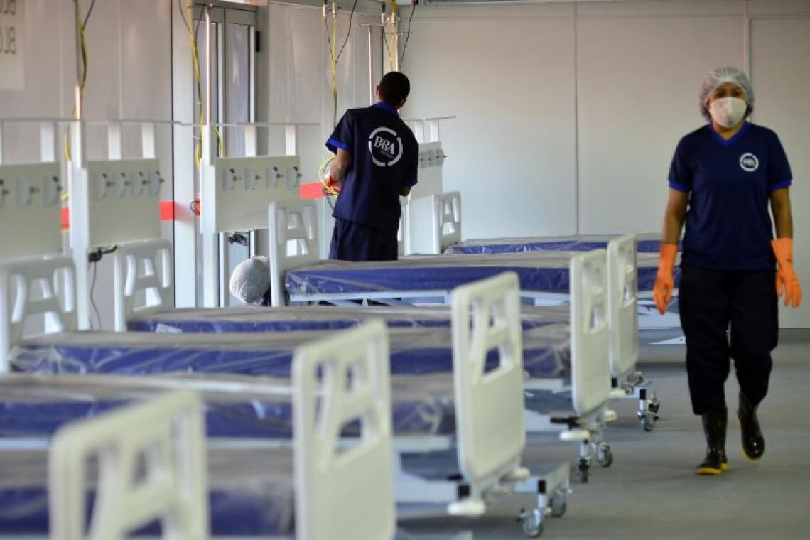 Distrito Federal tem 26,74% dos leitos ocupados, mas aumento de pacientes preocupa