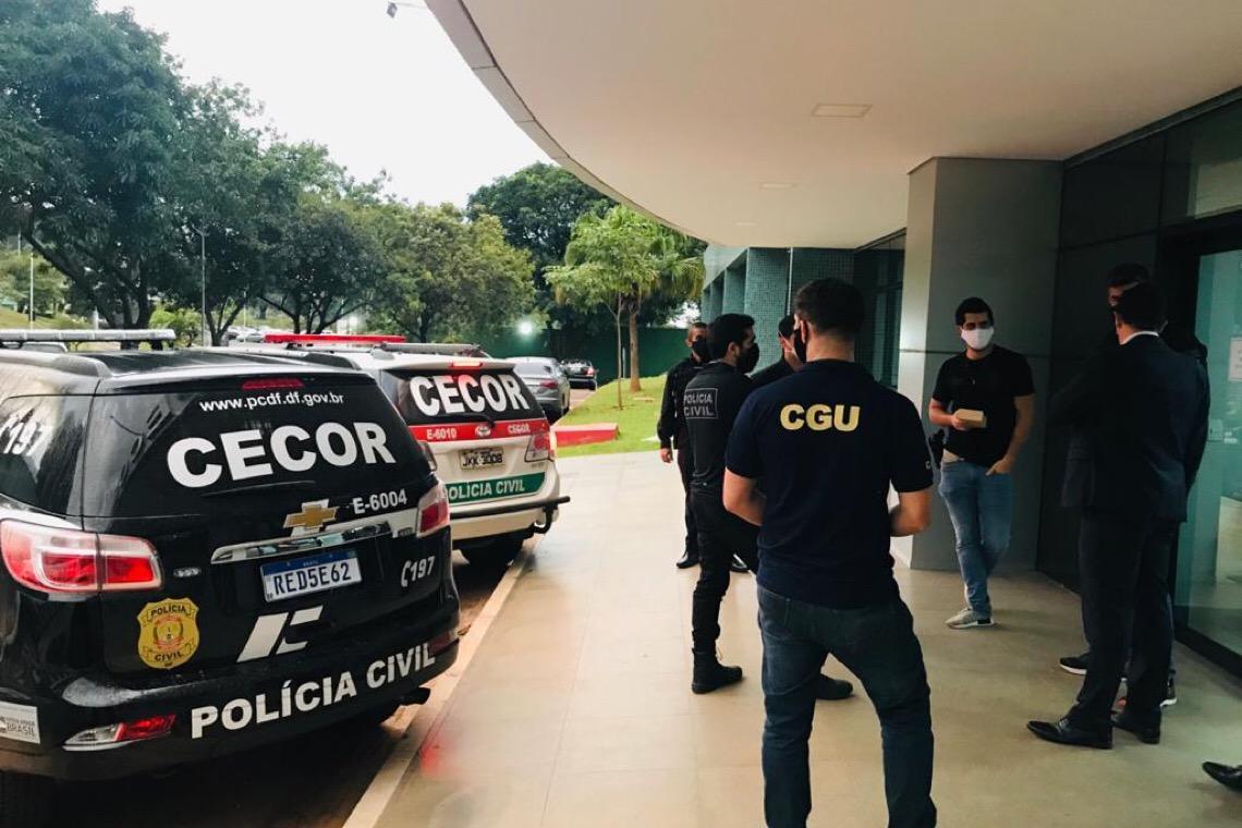 Operação Grabato: Contratos emergenciais da Saúde são investigados no DF