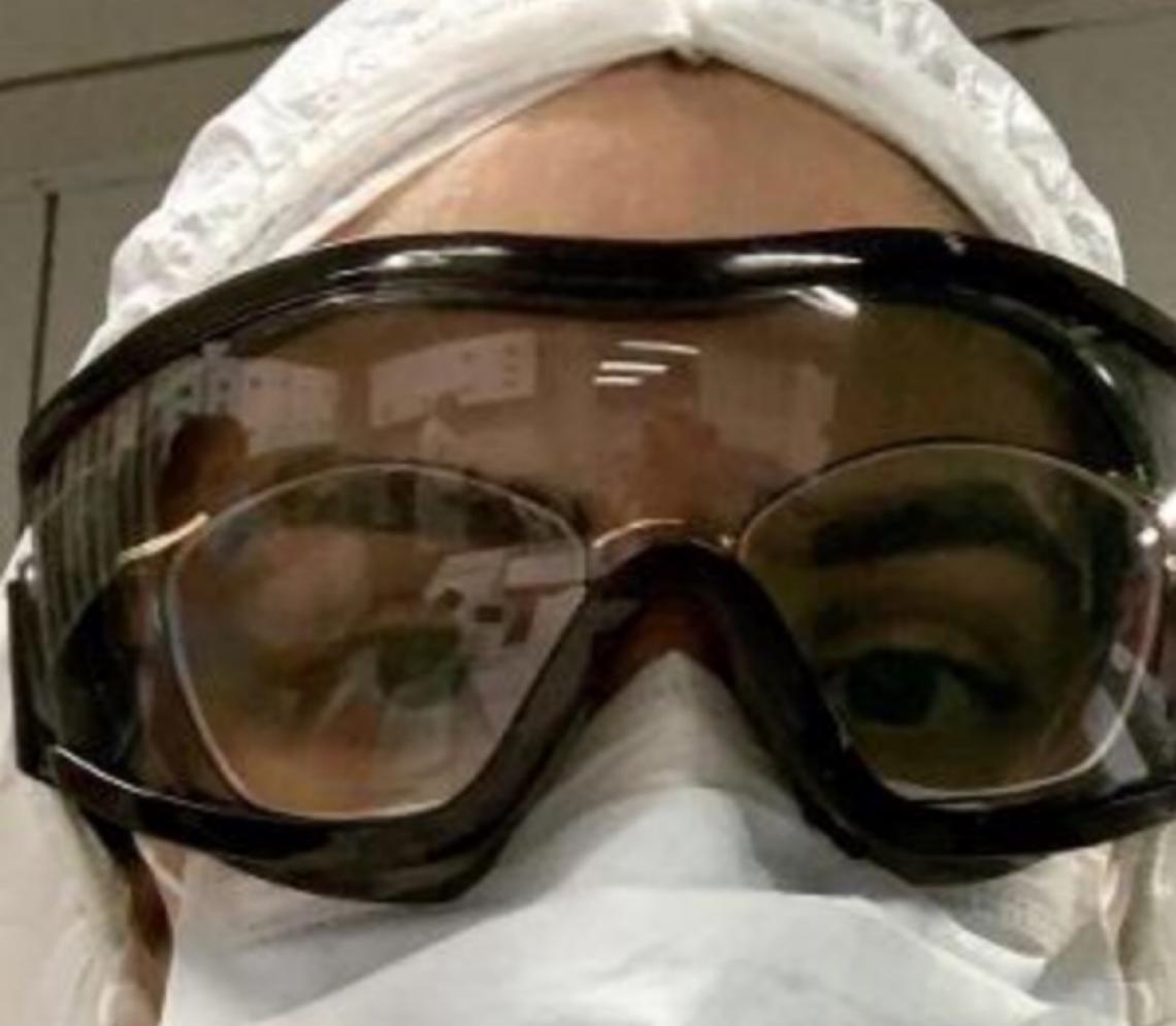 Médica que atua na linha de frente da covid desabafa: 'Hoje eu só chorei'