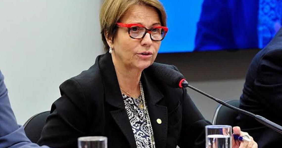 Elogiada em reunião, ministra ampliou pulverização de agrotóxicos