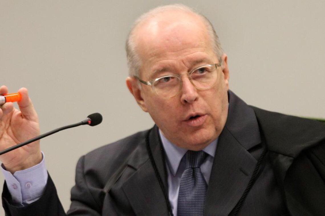 Mensagem de Celso não o torna suspeito, dizem ministros do STF