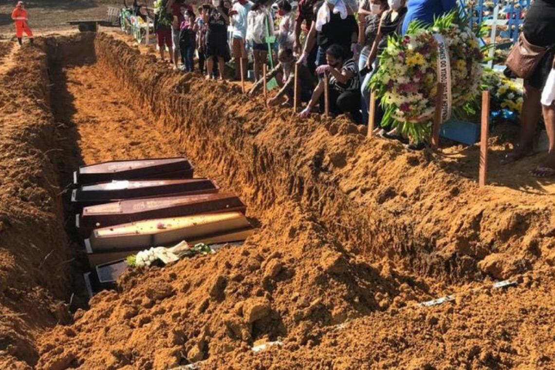 Com explosão de casos e desmoralização global, governo brasileiro decide recontar mortes por covid-19