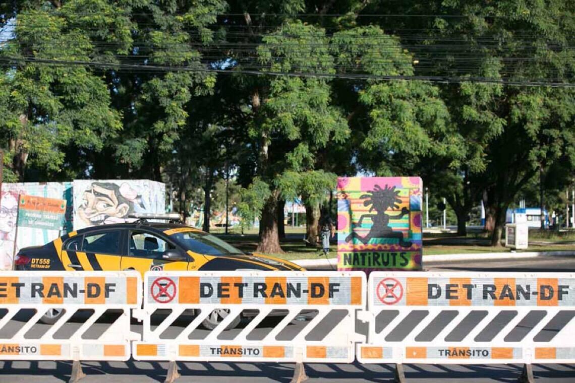 Detran libera mais um trecho do Parque da Cidade para veículos trafegarem