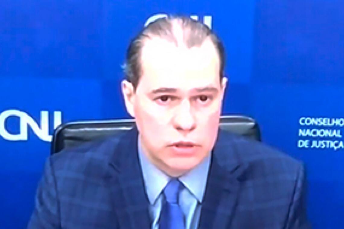 Presidente do STF recebe manifesto em ato nacional pela defesa da democracia e do Judiciário
