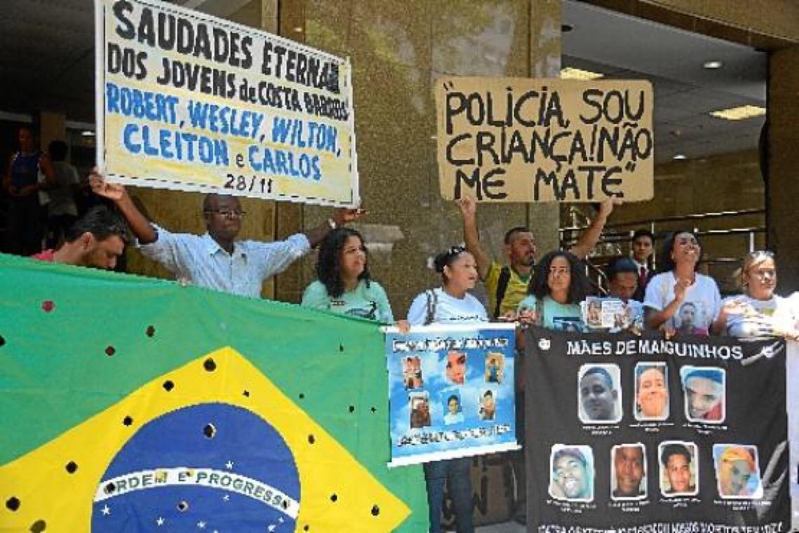 Governo brasileiro exclui dados sobre violência policial