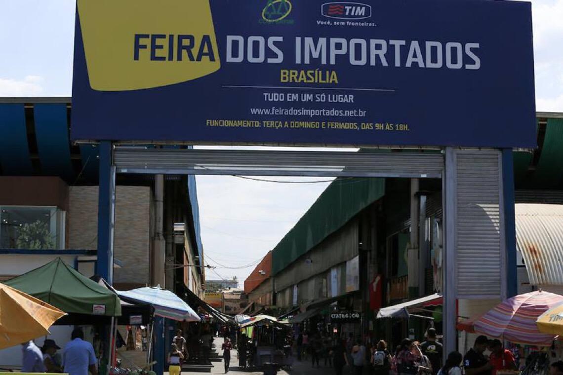 Governo DF autoriza reabertura da Feira dos Importados