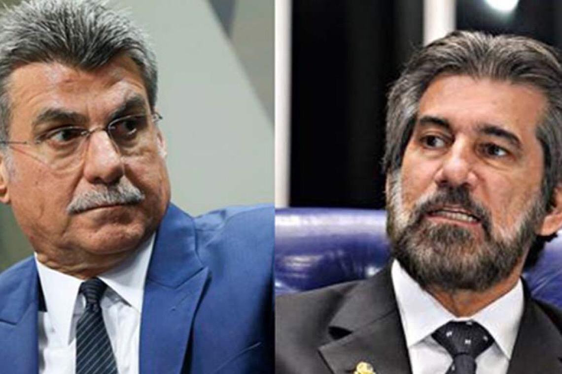 Justiça aceita denúncia contra Romero Jucá e Valdir Raupp por corrupção e lavagem de dinheiro