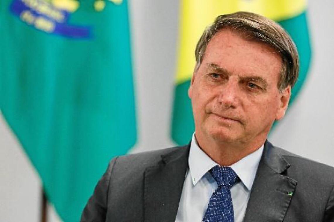 Mais da metade dos moradores do Distrito Federal vêm Bolsonaro de forma negativa