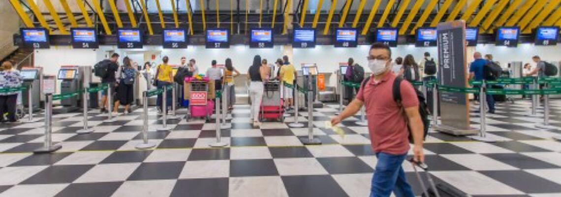 Governo brasileiro prorroga por mais 15 dias restrição de entrada de estrangeiros no Brasil