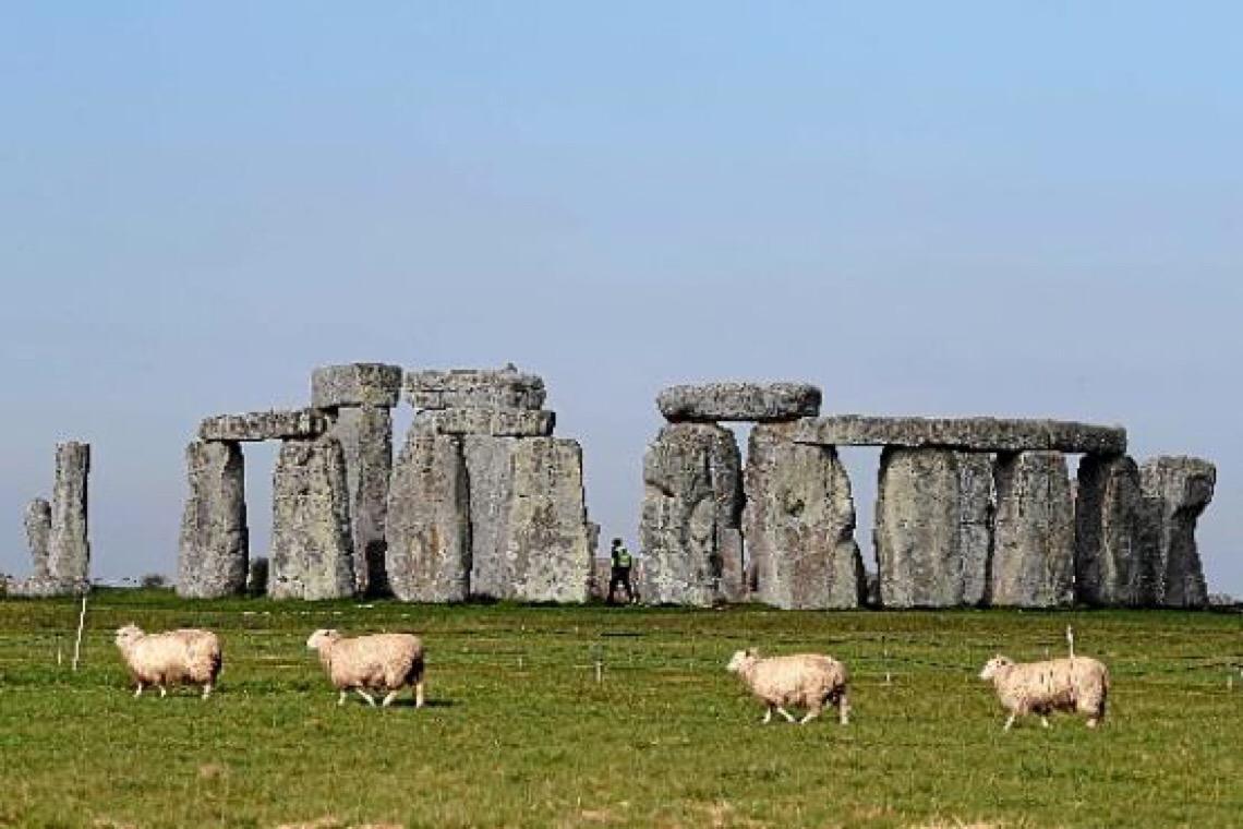 Estrutura encontrada perto de Stonehenge