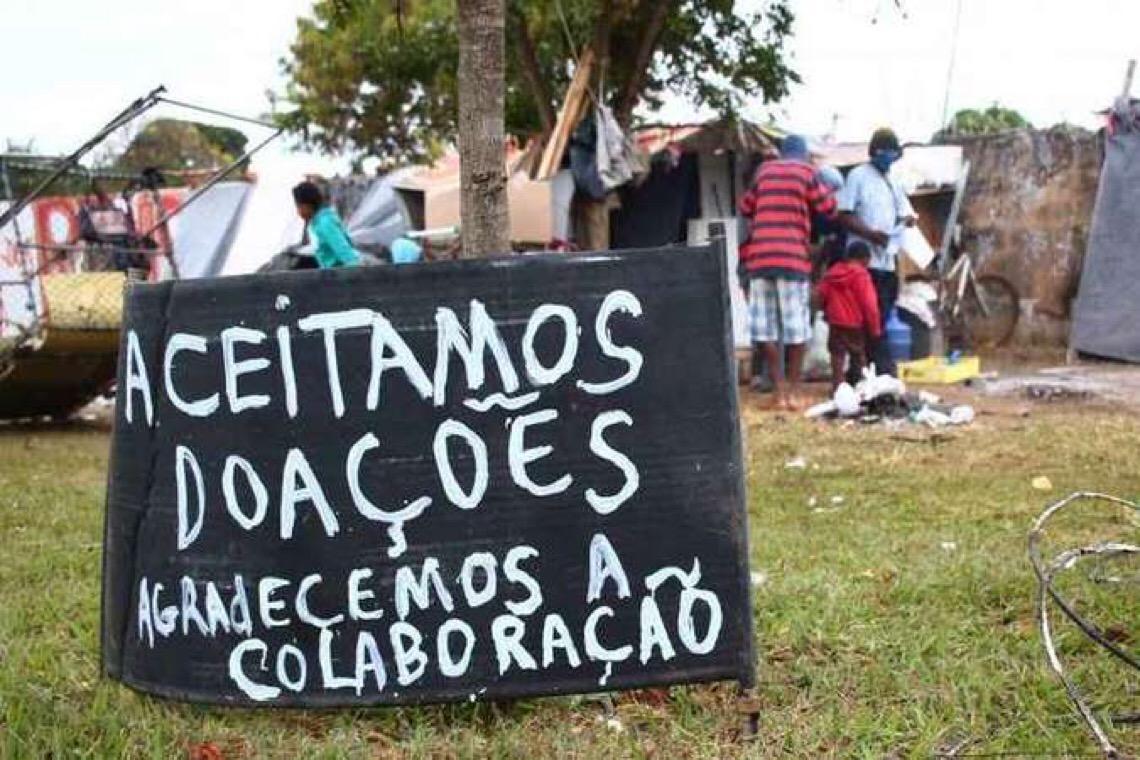 Projeto de arrecadar doações por todo o Brasil começa pelo Distrito Federal