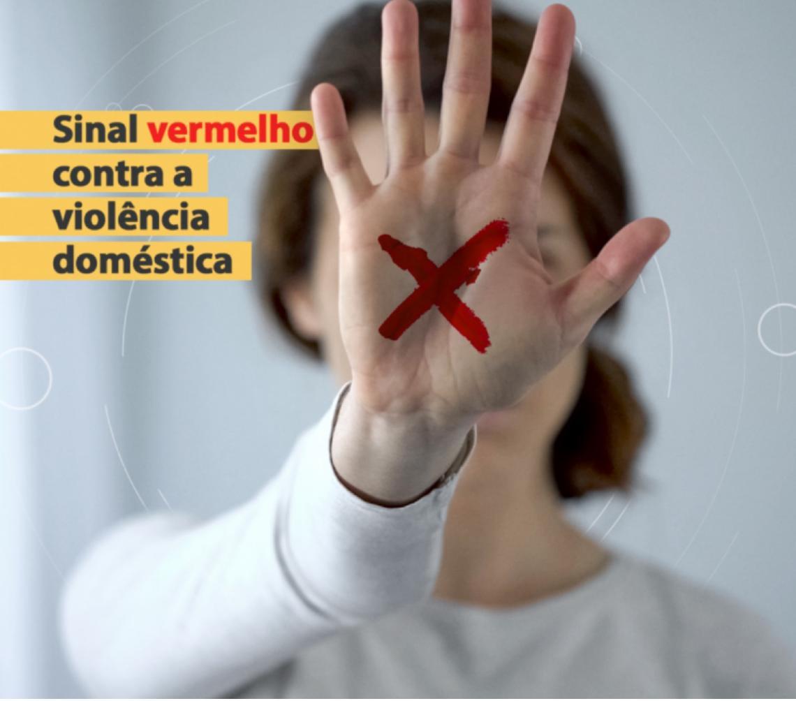 Forças de Segurança do Distrito Federal aderem campanha nacional para denunciar violência contra mulher