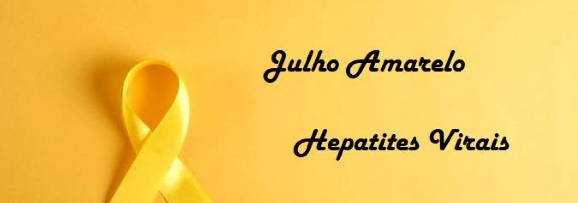 Hepatites virais são tema da campanha julho amarelo