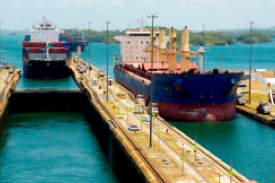 Canal do Panamá como você nunca viu, hoje sofre com falta de água