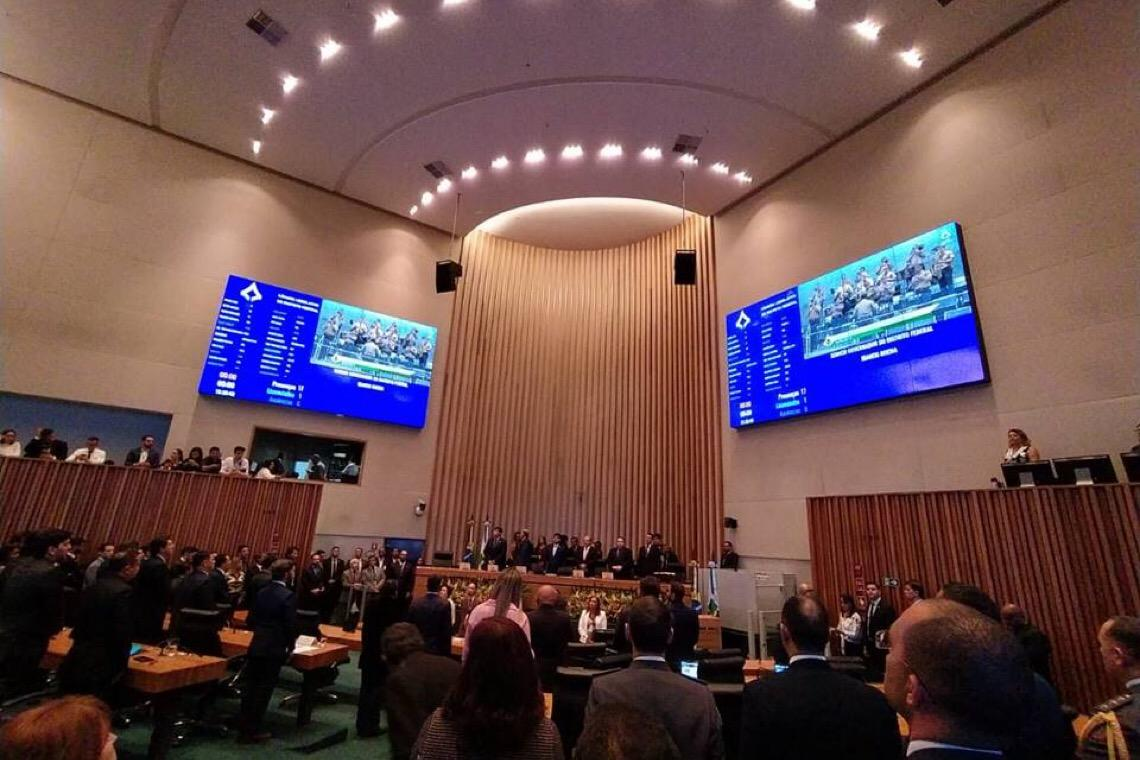 Deputados distritais assinam abertura de CPI da Pandemia na CLDF