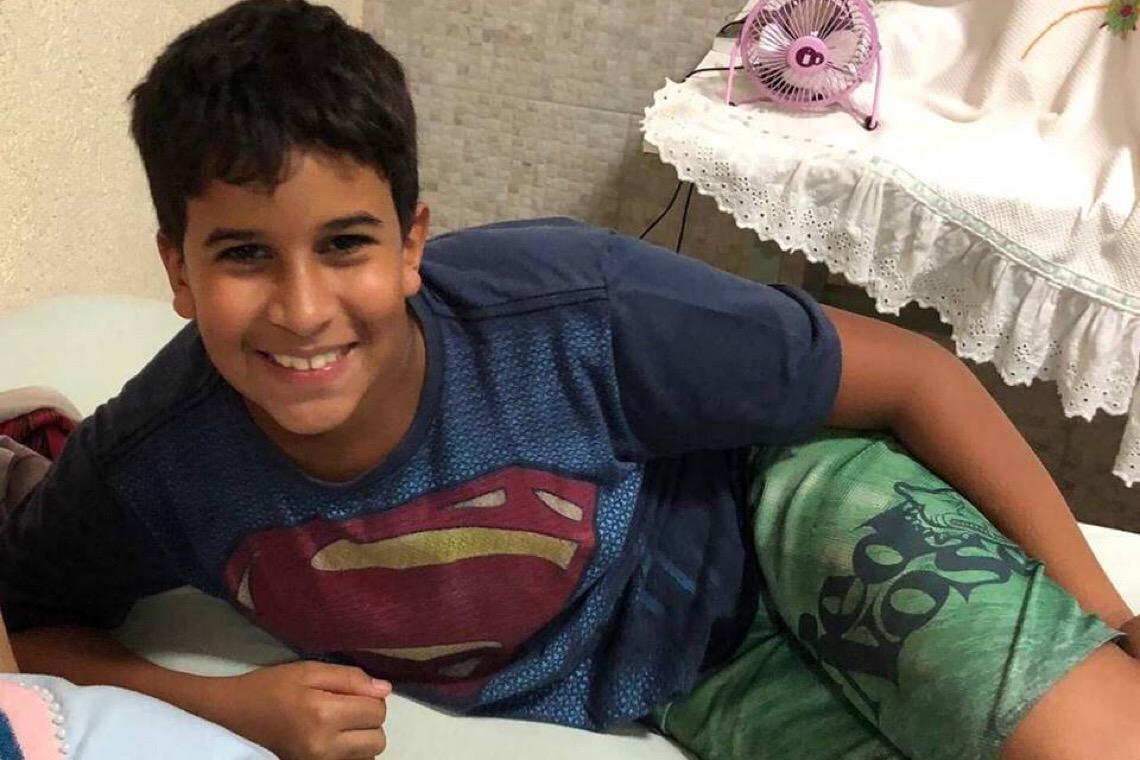 Aos 11 anos, Heitor Xavier luta para não ficar cego. Família pede ajuda