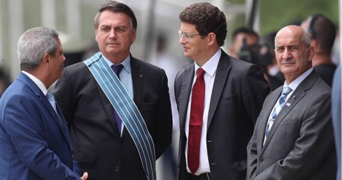 Salles rompe com ministro Ramos, em meio à disputa por Ministério do Meio Ambiente