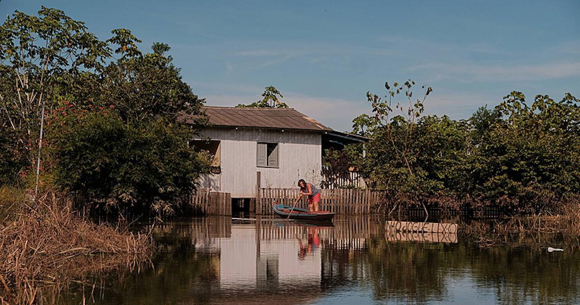 Cheias no Acre já atingem o Amazonas e são agravadas pelo desmatamento da região