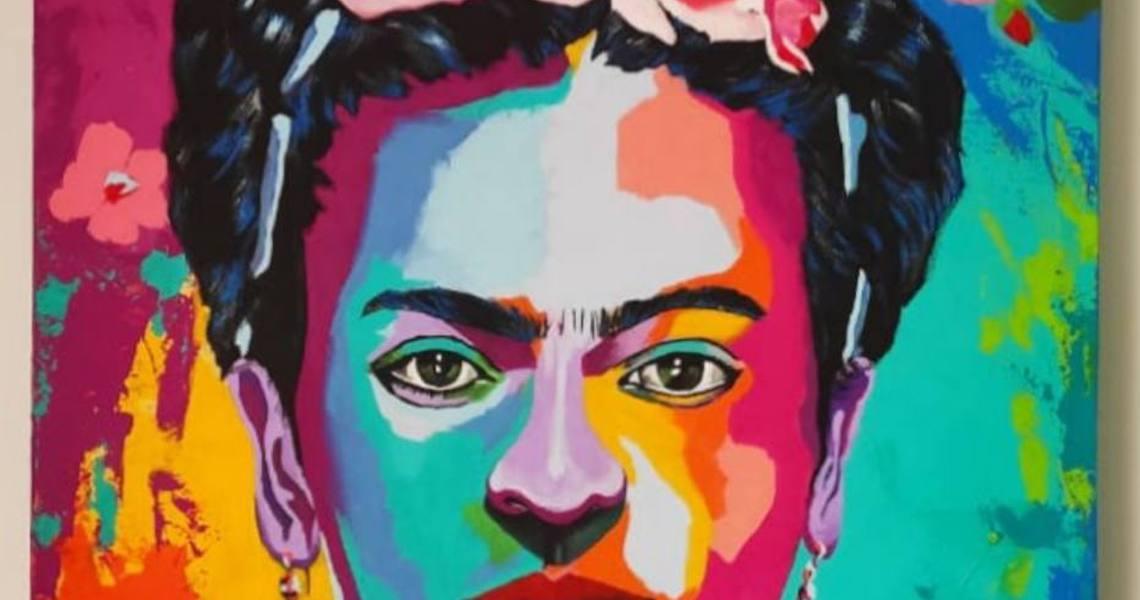 Obra de Frida Kahlo, de Cláudio Medina, é rifada para ações de combate à fome em meio à pandemia