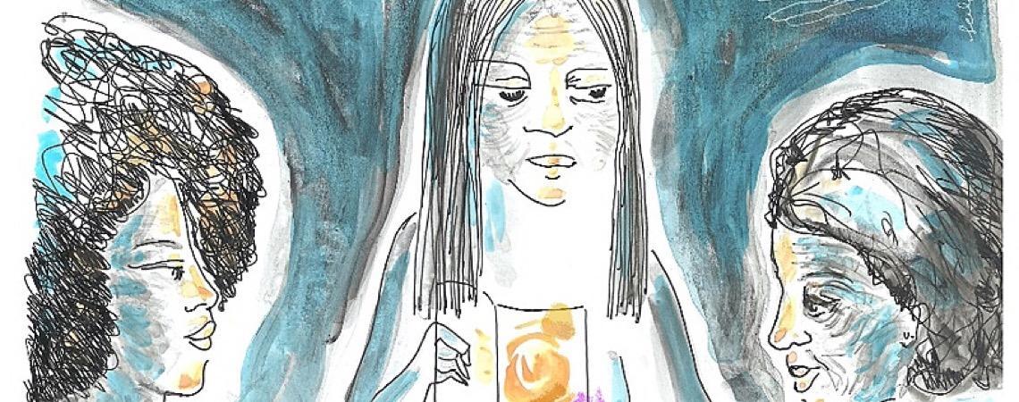 Horizontes das mulheres que recusam o aprisionamento pelo violento presente
