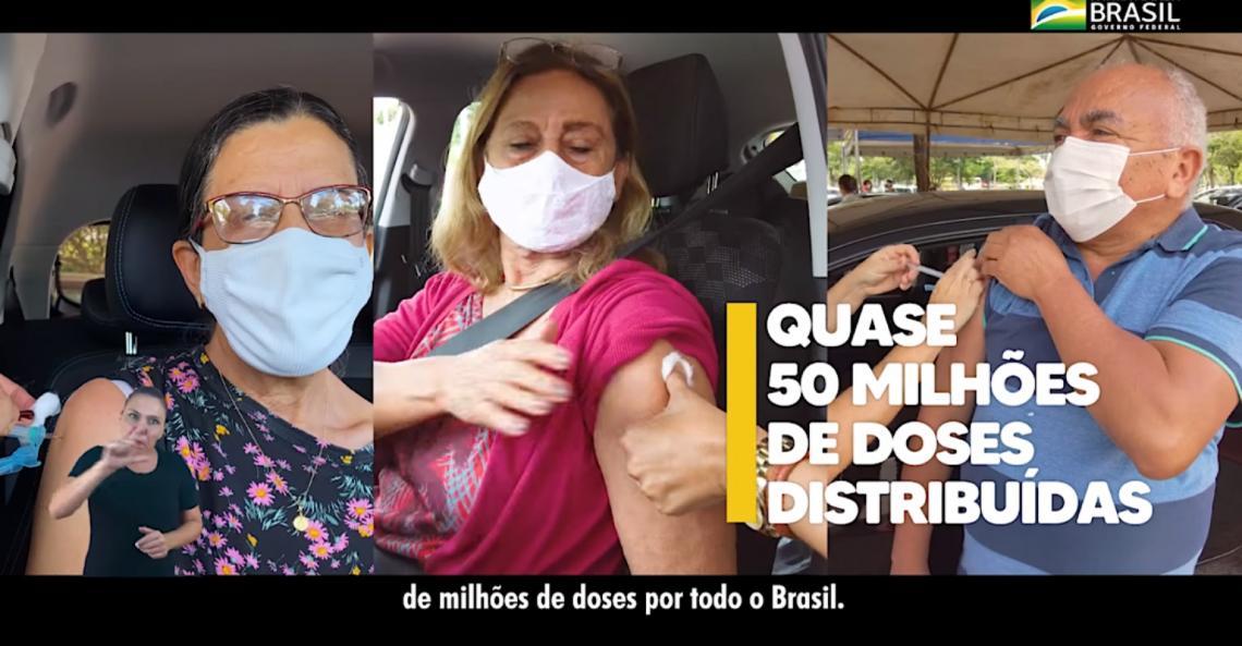 Propaganda do governo Bolsonaro usa imagem do petista Chico Vigilante
