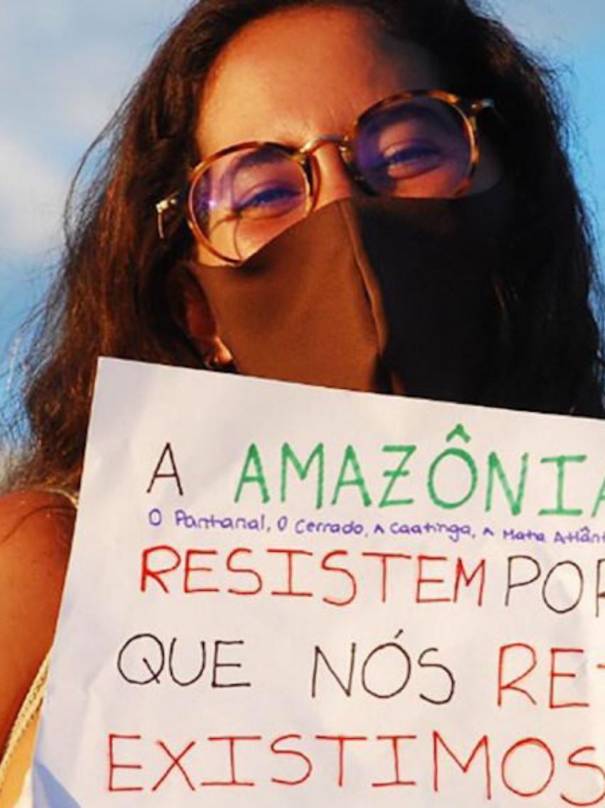"""Para ativista brasileira """"autonomia sempre foi e sempre será a floresta em pé"""""""