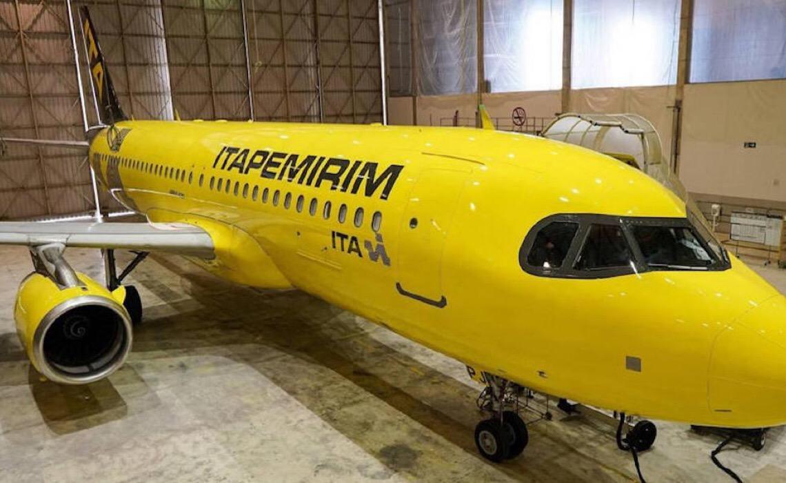 Itapemirim recebe 2ª aeronave de sua empresa aérea