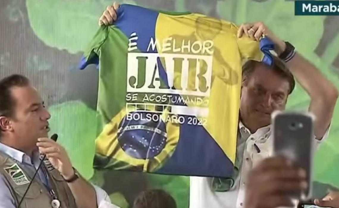 Ministério Público Eleitoral pede aplicação de multa a Bolsonaro por propaganda eleitoral antecipada