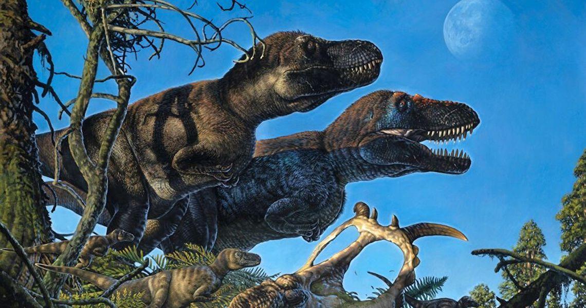 Dinossauros habitavam nos Polos Norte e Sul e seriam de sangue quente, sugere estudo