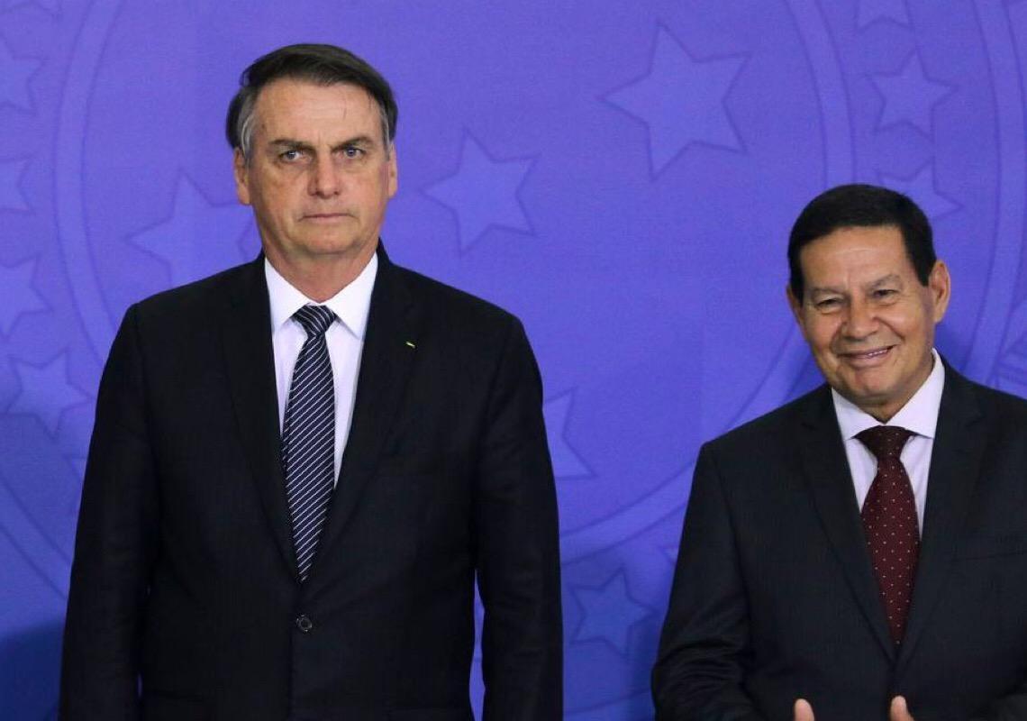 COP 26: Jair Bolsonaro deixa Hamilton Mourão fora da Cúpula do Clima