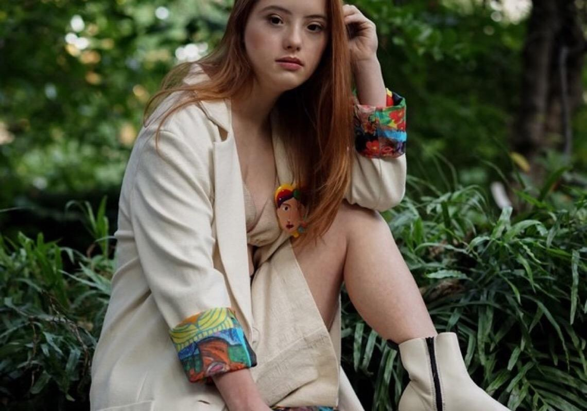 'Nada pode me limitar ou definir', diz a modelo com síndrome de Down